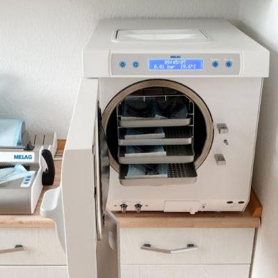 Werkzeug Sterilisationsgerät und Vakuumierer